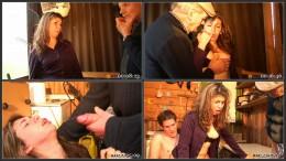 Papy Voyeur #26, Cheating slut double-fucked
