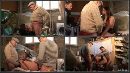 Papy Voyeur #32, Papy hunting and fucking