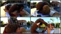 Lesbian MILF Party, Interracial MILF lesbians