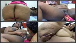 Lesbian BBBW #7, Fat black lesbians try new toys