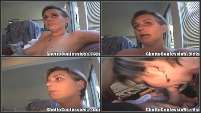 Crack Whore Beth Sucks Cock All Day