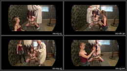 Dani In The Torture Chair pt 2