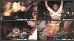 Girls Flashing Boobs for Beads