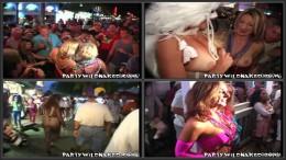 Girls Flashing at Fantasy Fest