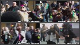 Mardi Gras Flashing in the Streets!