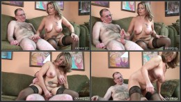 Latina Mature Sandie Is Giving A Handjob