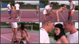 Hard Court Teen Tennis Scene 5