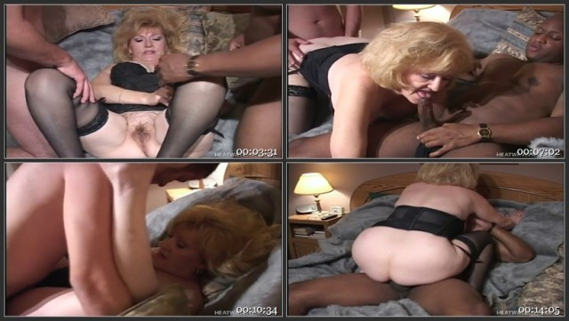 Mature Housewife In Threesome