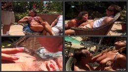 Bikini Babe Stevie Shows Off Mega Tits