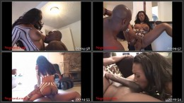 Giant Black Nippled Slut Take Monster Negro Cock Pounding