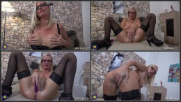 Tina V - German hot housewife goes wild HD