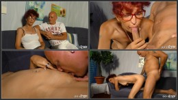 Wild German pickup and fuck with amateur redhead Evelyn HD