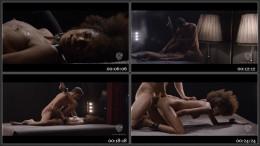 Brazilian ebony beauty Luna Corazon gets cum on ass in glamcore fetish fuck HD