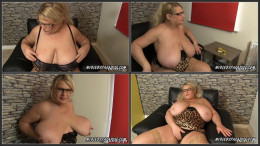 Samantha Sanders Animalprint covers my boobs and my curvy body (1080)