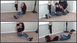 High Heeled Tease Roped And Groped (1080)