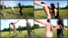 Temptress Raven Eve Whipping