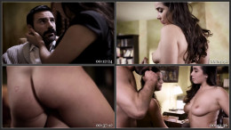Busty Dark Haired Babes Angela White and Karlee Grey Enjoy a Threesome with Stud Charles Dera
