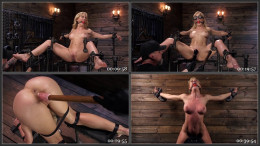 Bound Blonde Cougar Cherie DeVille Gets Flogged and Enjoys a Sybian Ride (1080p)