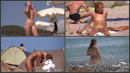 Nude Euro Beaches 25 (1080p)