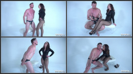 Life as a Slave for Akira Shell Part 1 BALLBUSTING (1080)