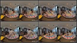 Naked Twister Playing Rebeka Ruby With Ginger Spinner Riki 1